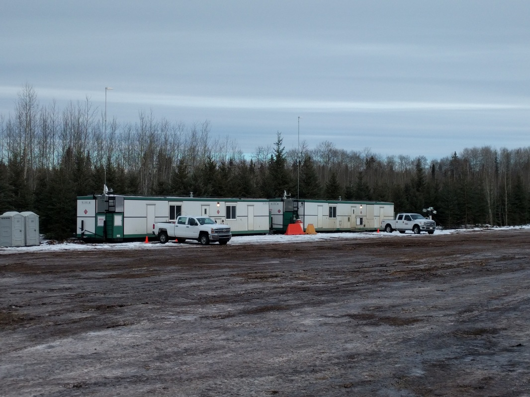 Remote camp cell signal booster Fort McMurray Alberta