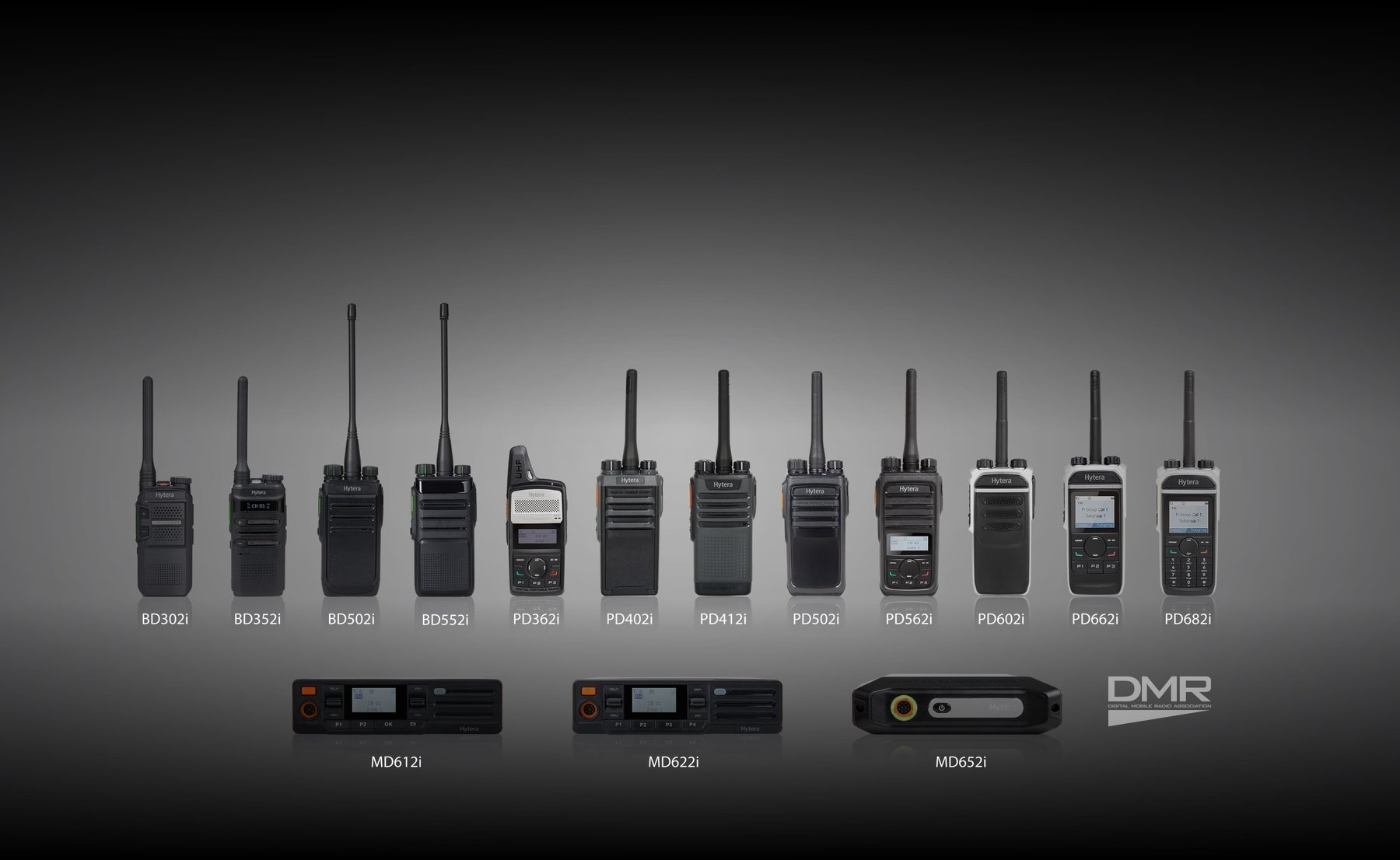 Advanced DMR 2-way radio systems