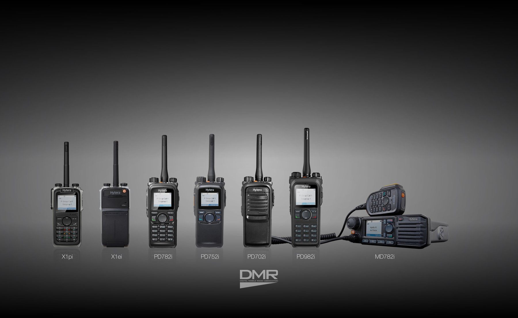 Advanced DMR 2-way radio systems