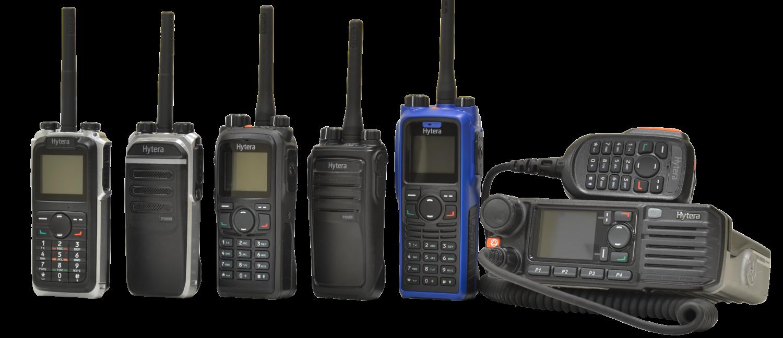 Hytera premium DMR trunked radio system rentals