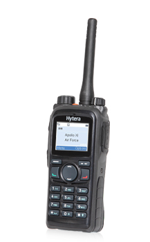 Hytera PD782-782G digital DMR trunking two-way radio Fort McMurray
