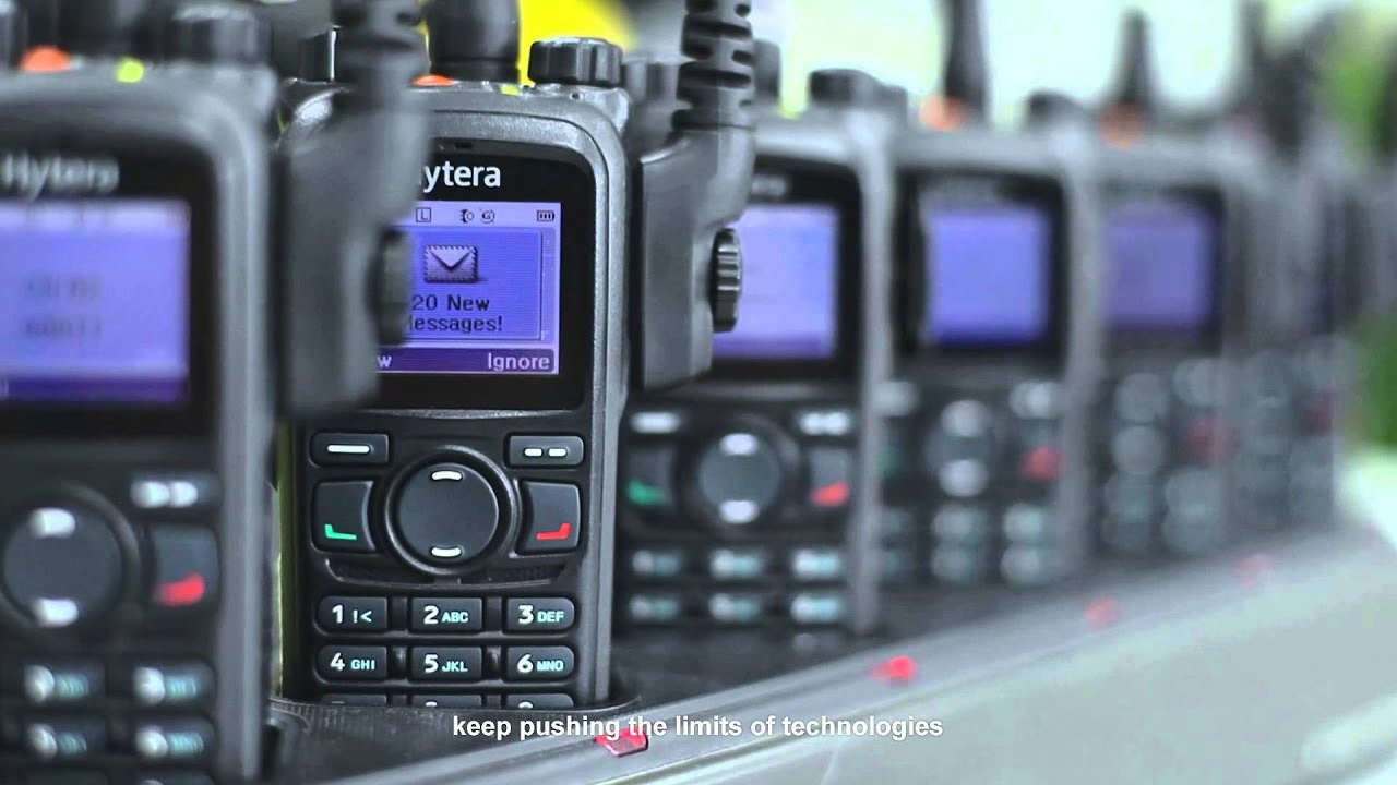 Hytera two-way radio DMR trunking system