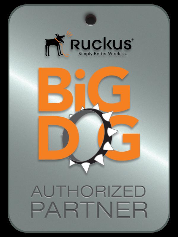 Ruckus Big Dog Authorized Wireless Dealer